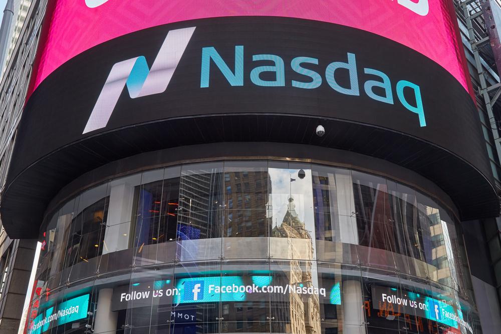 Nasdaq Sign, stock sign
